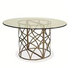 round dining table metal base tracery dining table ethan allen us round glass dining tables