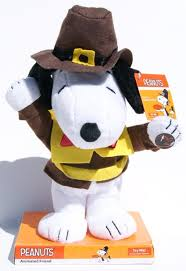 musical thanksgiving amazon com peanuts thanksgiving plush musical snoopy 12