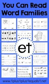 you can read word families ig word family printables 1 1 1 u003d1