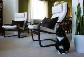 ikea poang chairs painted frames could be fun to get one black