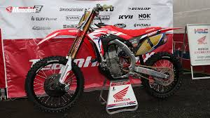 motocross bikes honda 2018 japan spy photos honda transworld motocross