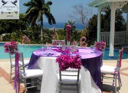 Wedding Reception Vases Luxury Destination Weddings In Jamaica Jamaica Destination