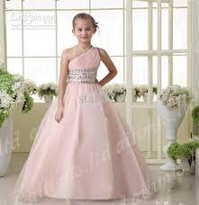 turmec one shoulder dress for kids