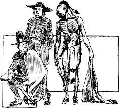 thanksgiving indians and pilgrims pilgrim clipart
