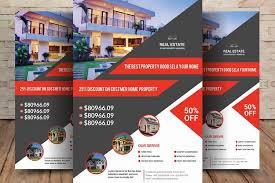real estate flyer examples real estate flyer by sanaimran design bundles