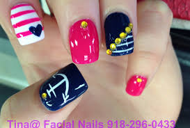 nail designs navy blue nail arts