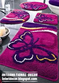 Purple Carpets Interior And Architecture Bathroom Carpets Bathroom Rugs Models