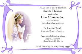communion invitations communion invitation cards personalised communion