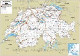 Pdf Maps Geoatlas City Maps Switzerland Map City Illustrator Fully