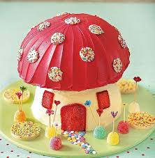 recipe pixie toadstool birthday cake daily mail