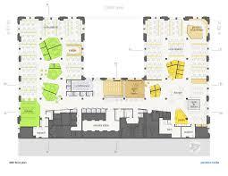 Office Space Floor Plan by Gallery Of Pandora Media Inc New York Office Aba Studio 18