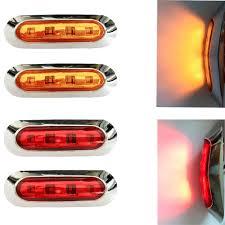 red led marker lights 1pcs side marker ls car led light 12v trailer truck rear lights