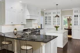kitchen terrific white kitchen decoration using square island