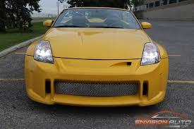 custom nissan 350z 2005 nissan 350z roadster u2013 custom appearance pkg envision auto