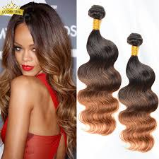 Two Tone Ombre Hair Extensions by Brazilian Ombre Hair Body Wave 1b 4 30 Three Tone Ombre Hair