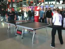 Table Tennis Tournament by Biba Golic At Espn 2010 Employee Table Tennis Tournament Youtube