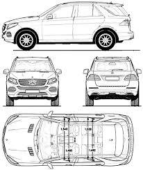 mercedes size suv the blueprints com blueprints cars mercedes mercedes