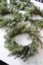 how to make wreaths make real evergreen wreaths the diy