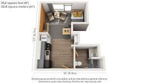 One Bedroom Apartment Layout 100 Small Apartment Floor Plans Apartments Awesome