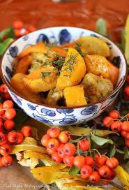 cuisine automne de porc aux légumes d automne en cocotte