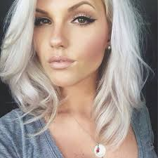 Grey Hair With Dark Highlights 35 Cool Hair Color Ideas To Try In 2017 Thefashionspot