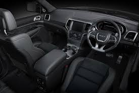 Jeep Grand Cherokee Srt Interior New Jeep Grand Cherokee Srt The Ultimate Performance Suv
