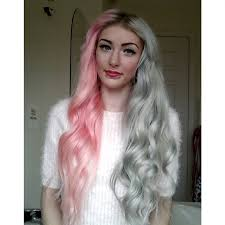 pravana silver hair color pink and silver hair color hair colors ideas