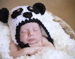 Panda Bear Halloween Costumes Panda Bear Hat Etsy
