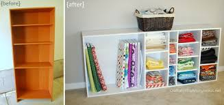 bookshelf organization ideas fabric storage and fabric organization ideas