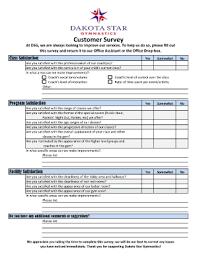 customer satisfaction survey form templates fillable u0026 printable