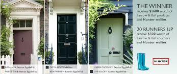 Exterior Door Paint Farrow And Exterior Door Paint Competition