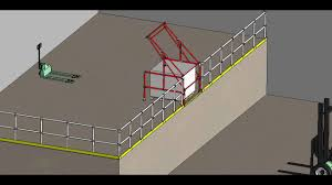 Self Closing Stair Gate by Kee Safety Pallet Gates Youtube