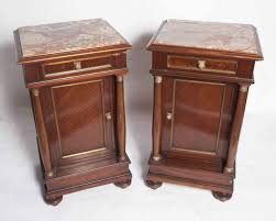 Heaven Antiques And Custom Furniture Los Angeles Ca Unusual Century French Second Empire Antique Bedside Table