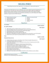 Nannies Resume Sample by Resume Bullet Points For Nanny Resume Examples Best Free Resume
