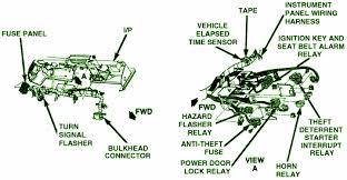 1984 chevrolet corvette starter interrupt fuse box diagram
