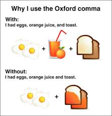 Oxford Comma Meme - time to settle this once and for all the oxford comma do you use