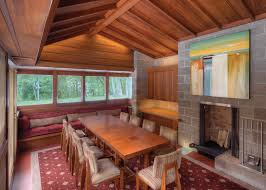 Frank Lloyd Wright Inspired Home Plans by Frank Lloyd Wright U0027s Adelman House In Wisconsin Receives Gorgeous