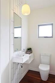 small powder room with fixtures and walls ways paint a