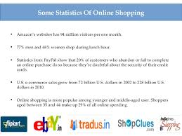 some interesting statistics and facts about shopping