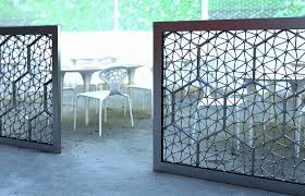 Outdoor Room Dividers Brilliant Outdoor Room Dividers Screen Ideas 4 Regarding Divider