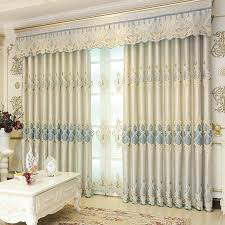 Blackout Door Curtains 2018 Chenille Blackout Drapes Bedroom Window Curtains Modern