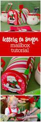 Christmas Mailbox Decoration Ideas Tutorial Embellished Christmas Mailbox Diy Mailbox Letter To