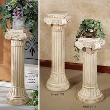 plant stand plantand columns54 columns singular pictures concept