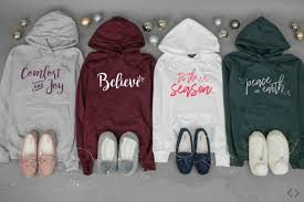 cents of style matching holiday hoodie and slippers deal