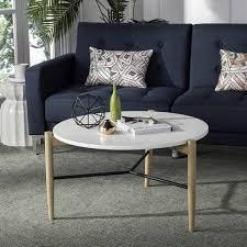 safavieh manelin coffee table safavieh mid century thyme round coffee table reading room