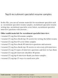 international relations specialist resume top 8 recruitment specialist resume samples 1 638 jpg cb u003d1430028583