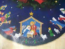 95 best nativity tree skirts images on tree