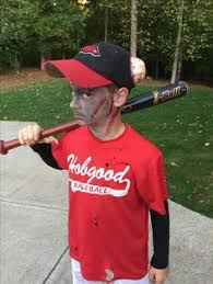 Softball Halloween Costumes Dead Baseball Player Costume Costume Works Halloween Costume