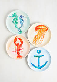 guest plate kitchen dining accessories sea my guest plate set for the