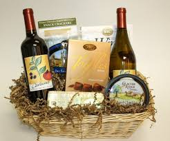 wine gift basket ideas two bottles of wine cheese gift baskets carmine s fresh